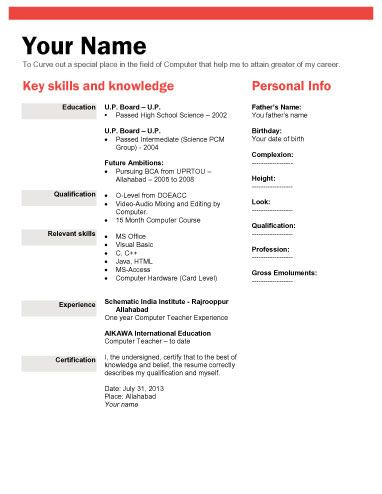 2 Biodata Template jenmar anilao Pinterest Template - download format of resume