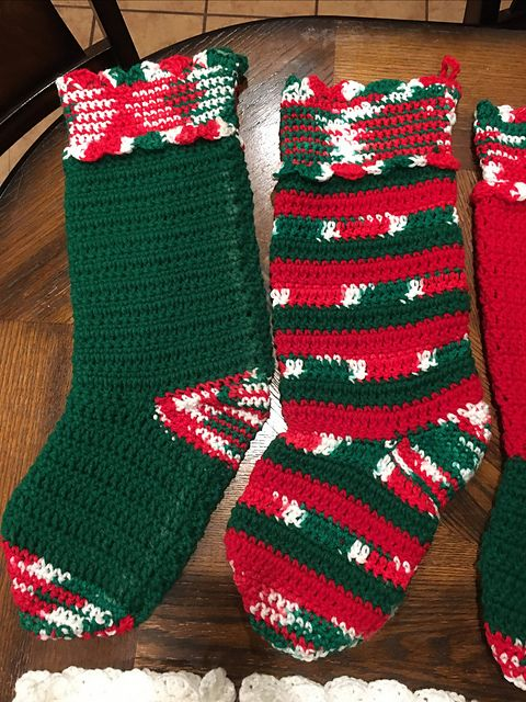 Ravelry: Quick & Easy Stocking pattern by Red Heart Design ...