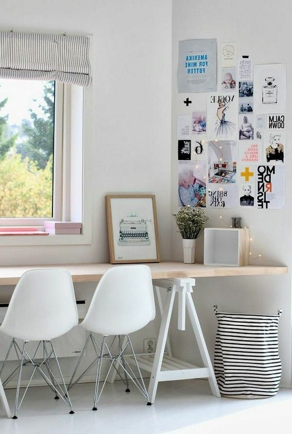 Scandinavian Study Room: Study Room In The Scandinavian Style Ideas