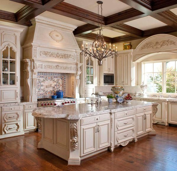 French Country Kitchen Cabinets: ElegantGranite On In 2019