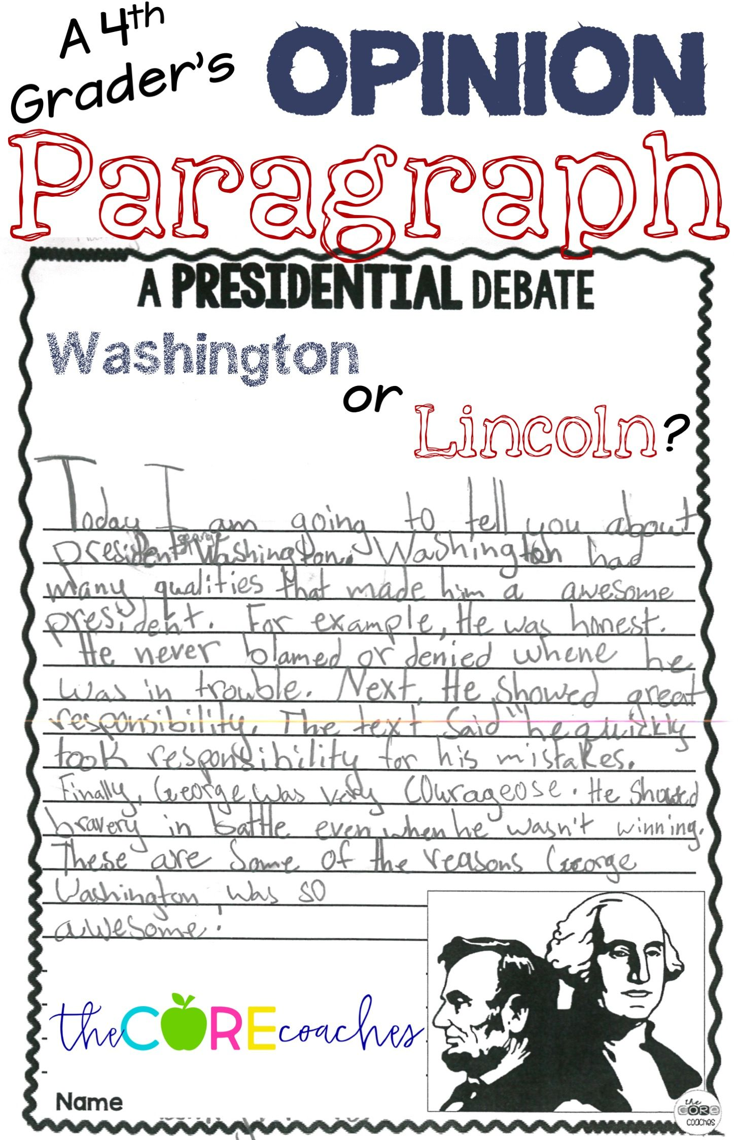 Lincoln Amp Washington Paired Text Passages Amp Opinion