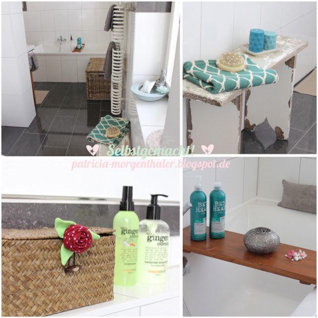 Deko Idee: Mein Badezimmer mit selbstgebauter ...