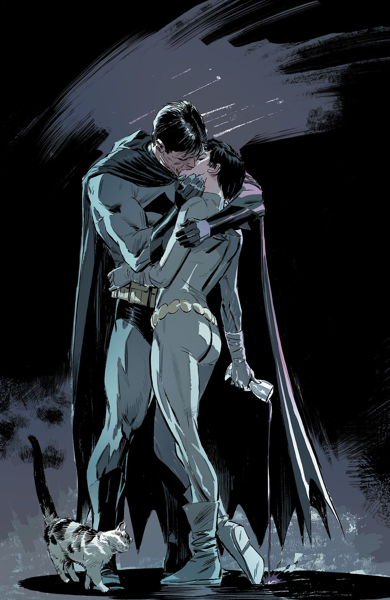 Love Has No Moral Catwoman And Batman Dc Universe Pinterest