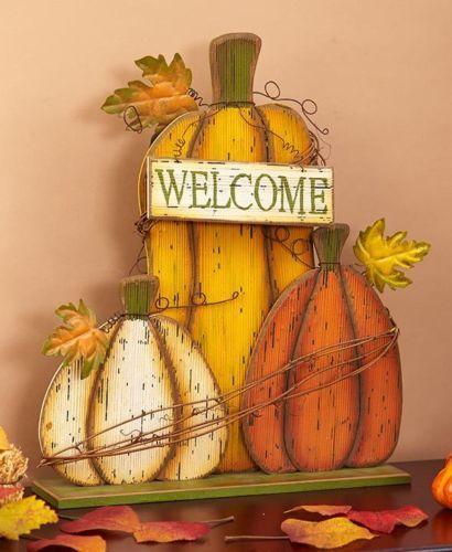 Welcome Sign Fall Decor Porch Decor Harvest Decor Sale Home Decor