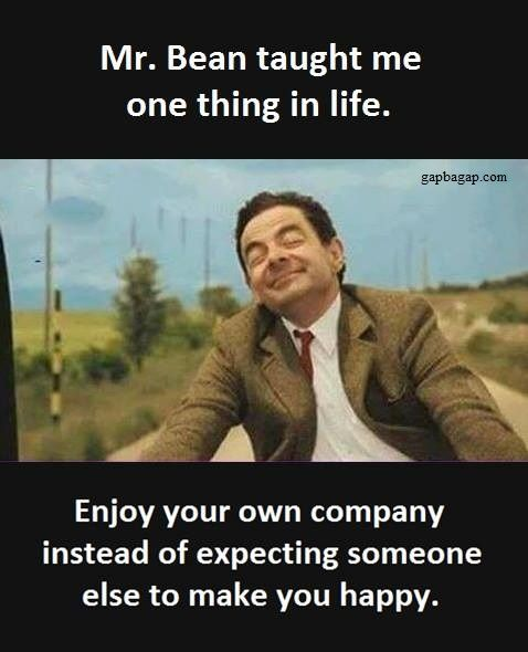 Funny Mr Bean Meme : Well said quotes ft mr bean so funny pinterest