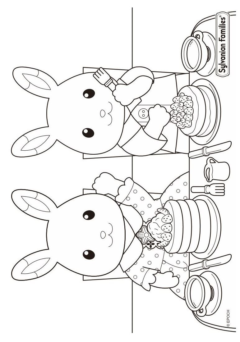 17 coloring pages of calico critters on kids n fun co uk on kids n fun you will always find the best coloring pages first