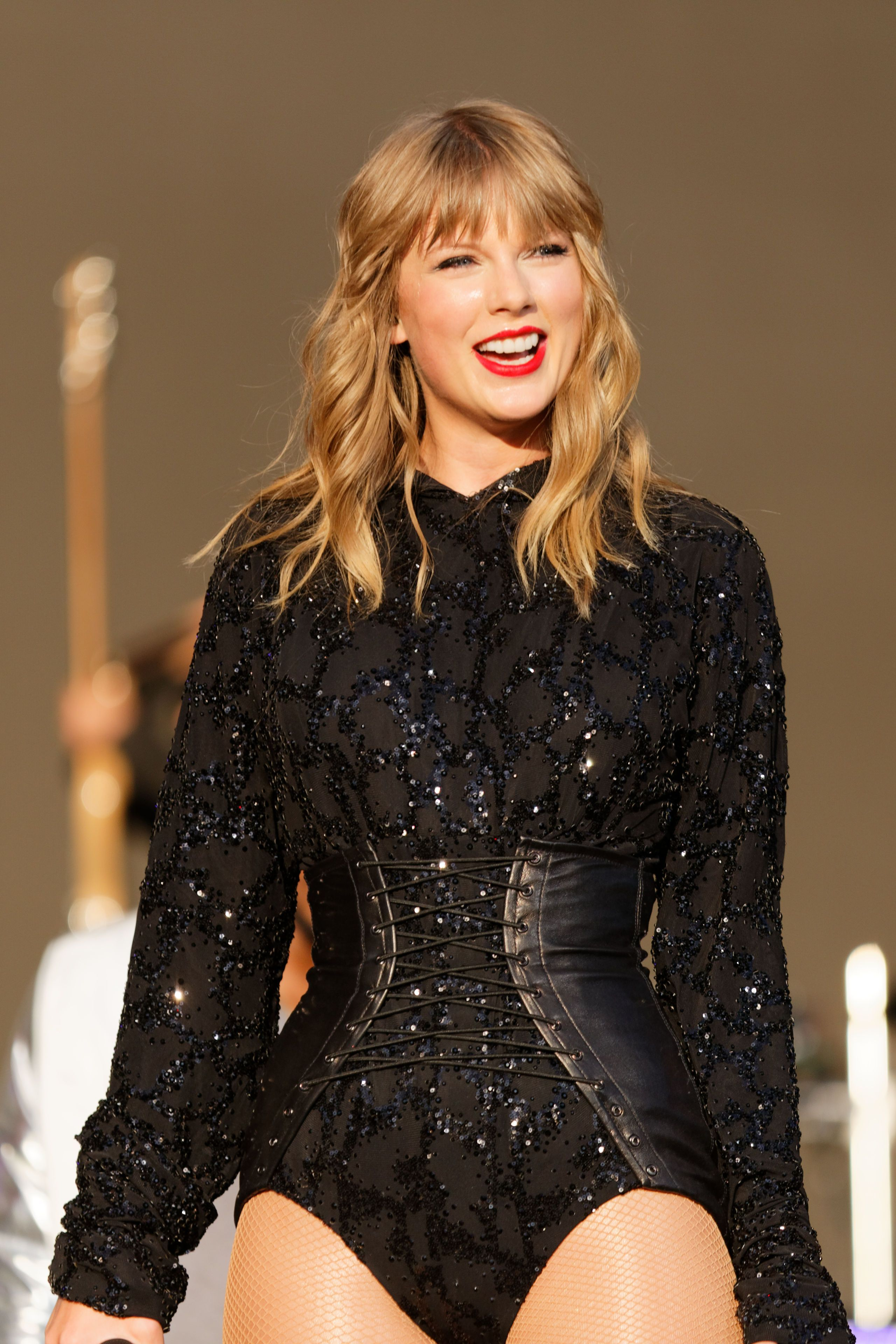Taylor Swift performs at the BBC Radio 1 Biggest Weekend