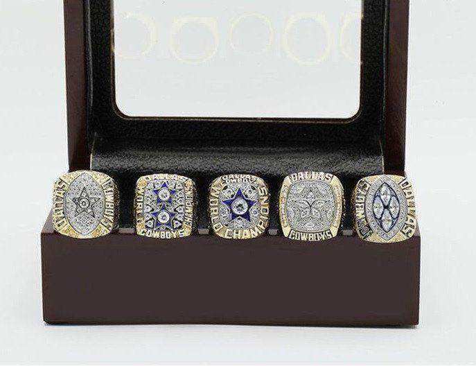 Dallas Cowboys Superbowl Rings 5pcs (Limited Edition Bundle)