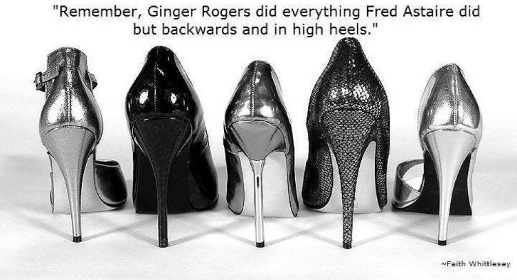 Remember Ginger Rogers Did Everything Fred Astaire Did But Backwards And In High Heels I Am Looking For Similar Individuals Heels Stiletto Shoes Stiletto