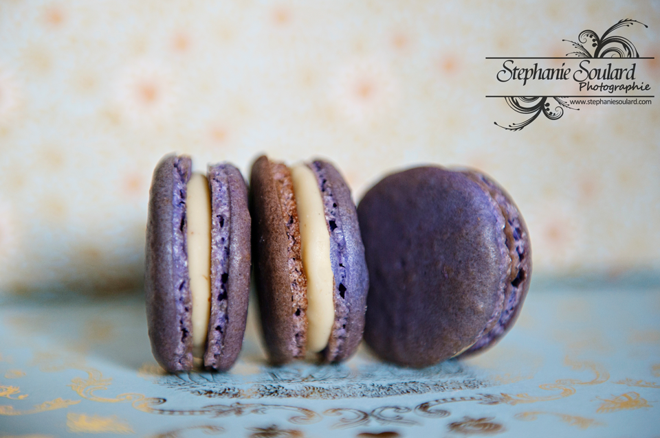 Macarons Figues