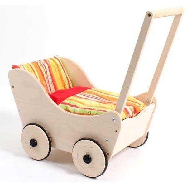 landau en bois pour bébé