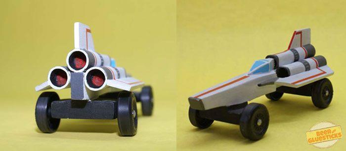 spaceship.jpg 700×306 pixels | Pinewood derby | Pinterest