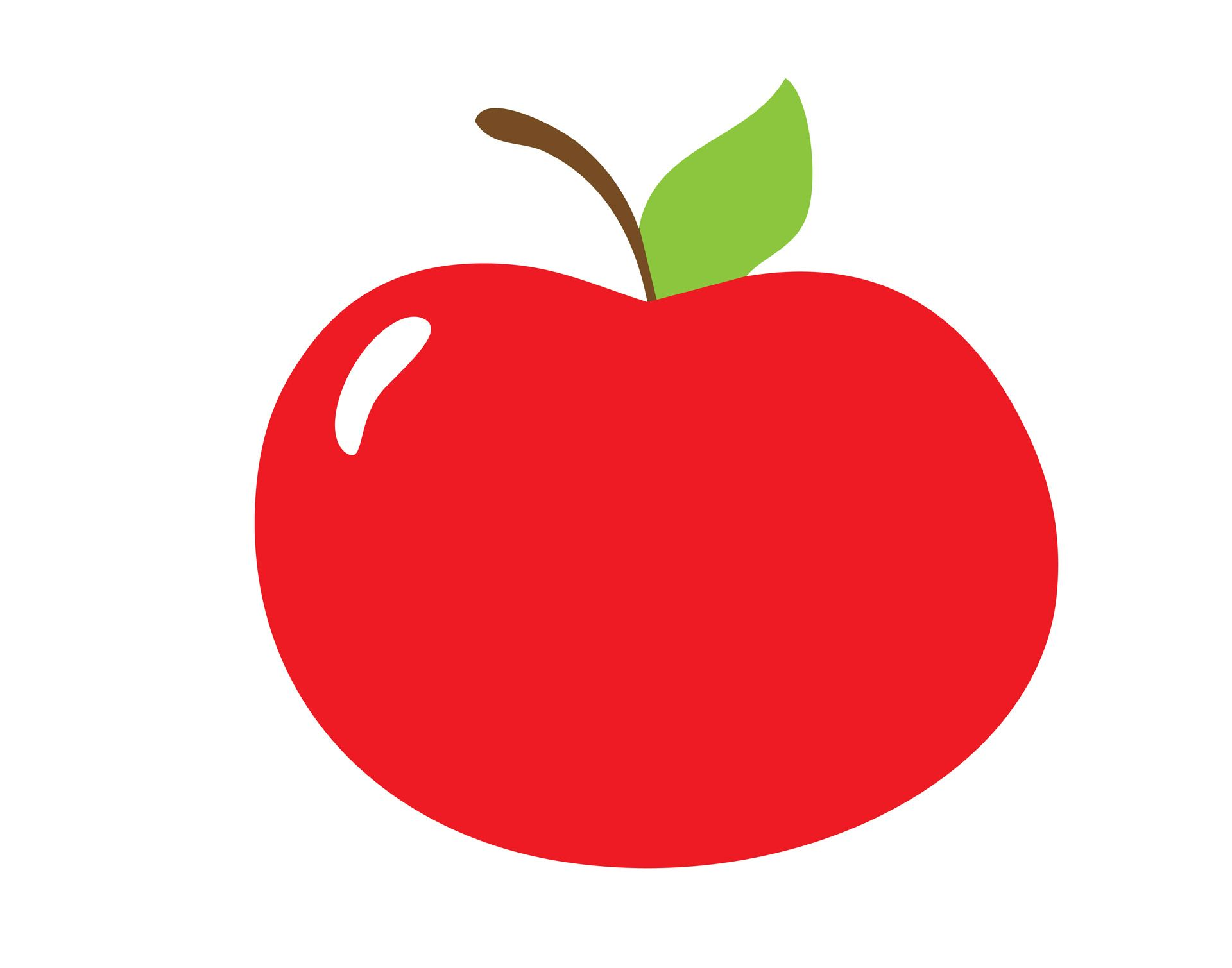 red apple clipart free stock photo public domain pictures [ 1920 x 1509 Pixel ]