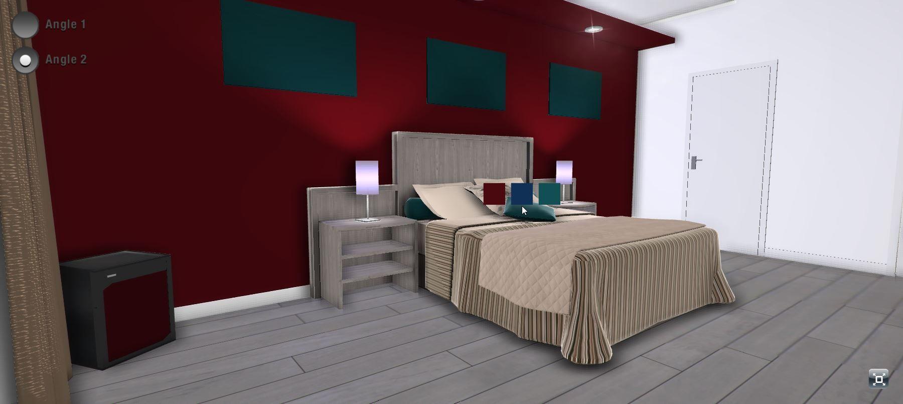 configurateur 3d de chambre d 39 h tel configurateurs pinterest. Black Bedroom Furniture Sets. Home Design Ideas