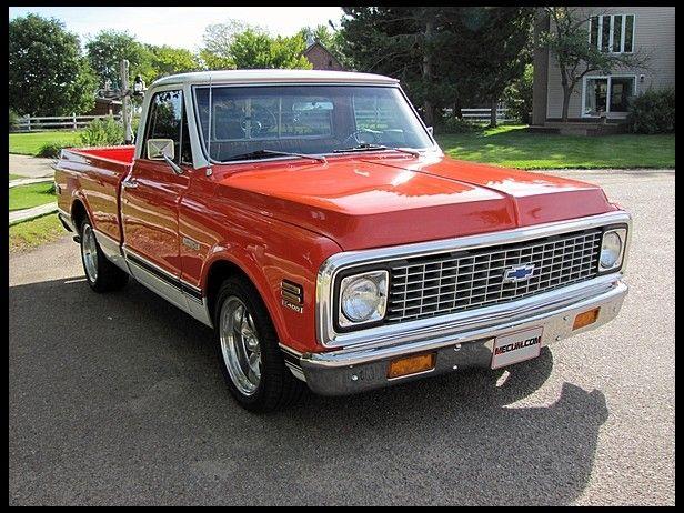 1972 Chevrolet Cheyenne Pickup 350 330 Hp Automatic Mecum