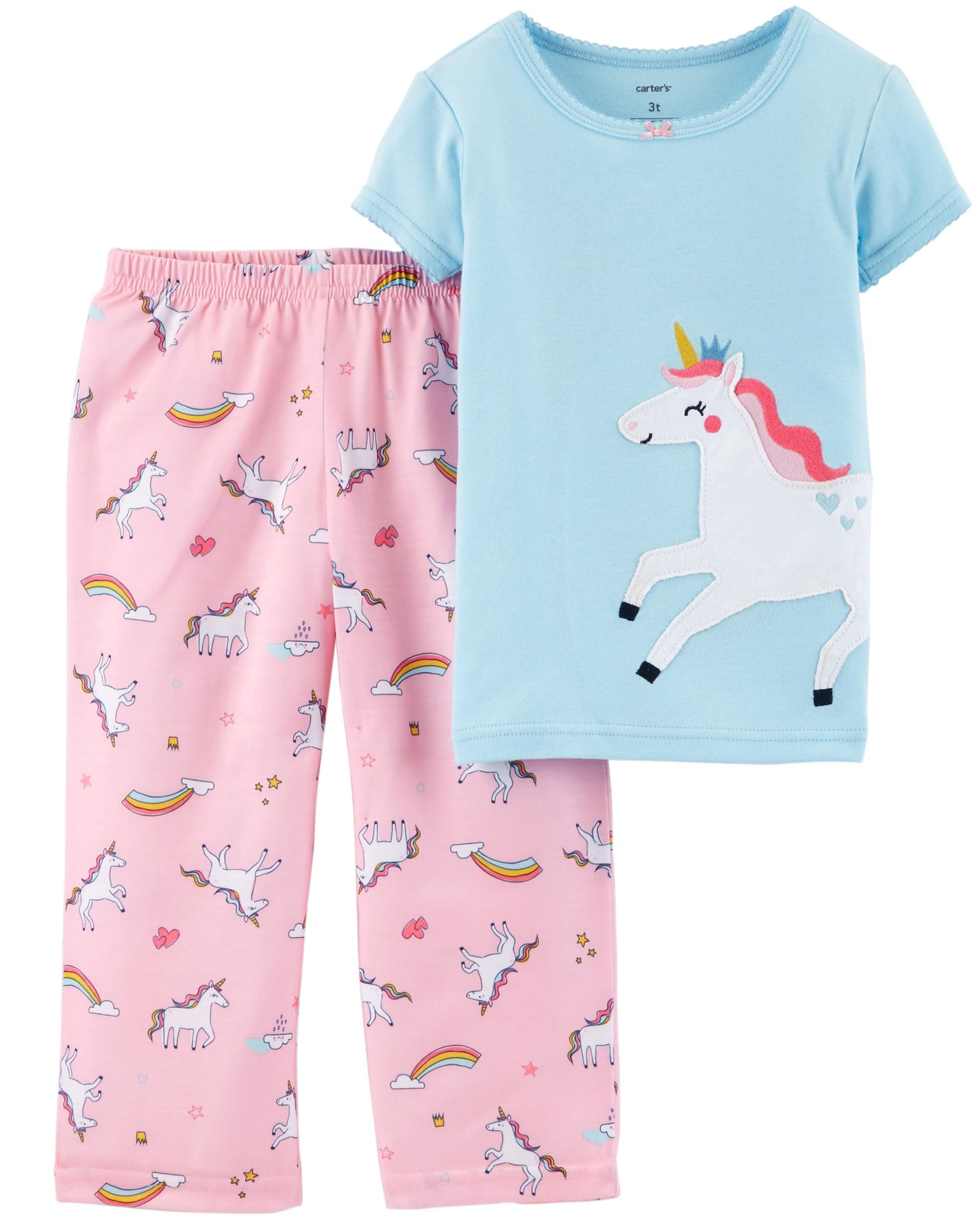 87e1e98f9b 2-Piece Unicorn Cotton   Poly PJs in 2019