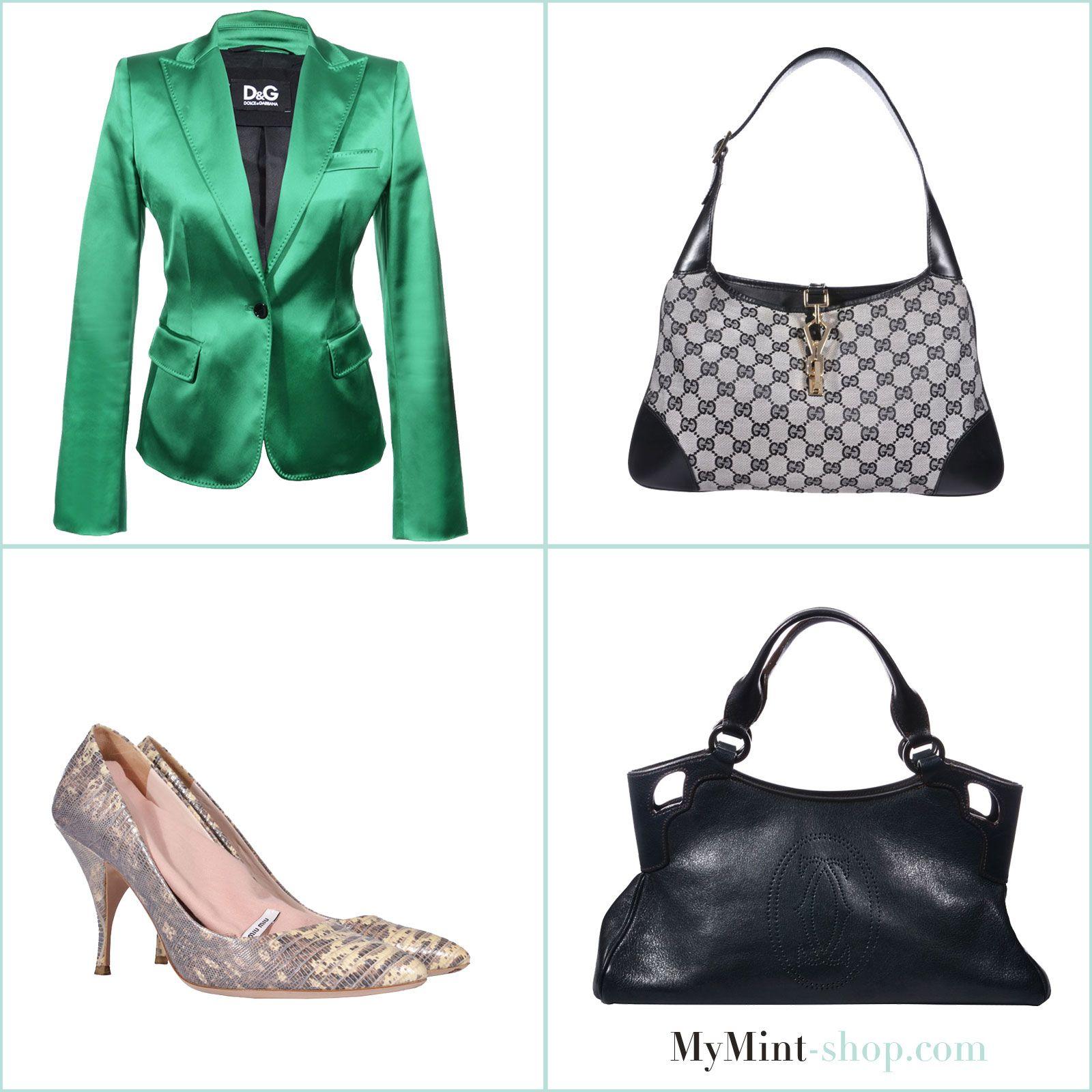 TUESDAY´S NEW ARRIVALS! Blazer: #DolceGabbana Tasche: #Gucci Pumps: #MiuMiu Tasche: #Cartier #Vintage #Fashion #SECONDHAND