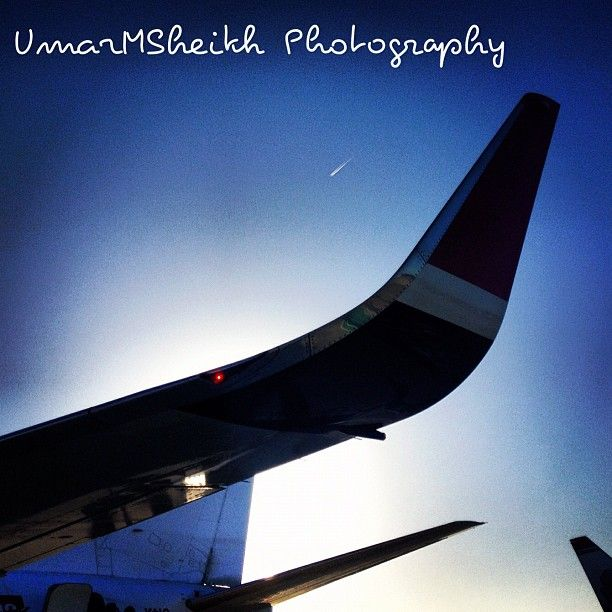 Sunrise with Norwegian Air Shuttle by @umarmsheikh
