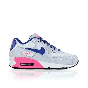 outlet boutique amazing price outlet store Nike Air Max 90 Damen Schuhe Grau Weiss Pink Blau ...