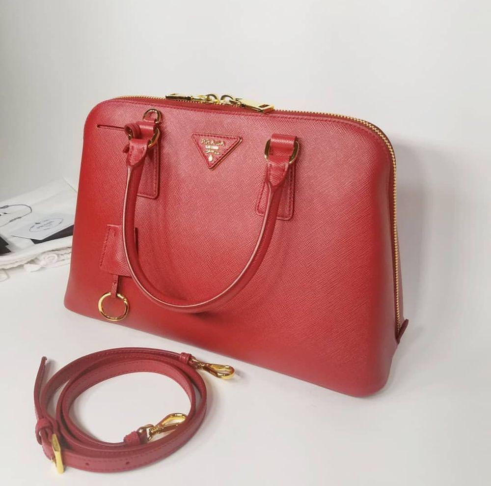 c36fb47bab80ed 100% Authentic Prada Promenade Saffiano Bag@ebay @pinterest #shoulder  #wearsprada #handbag #designer #shoulderbag