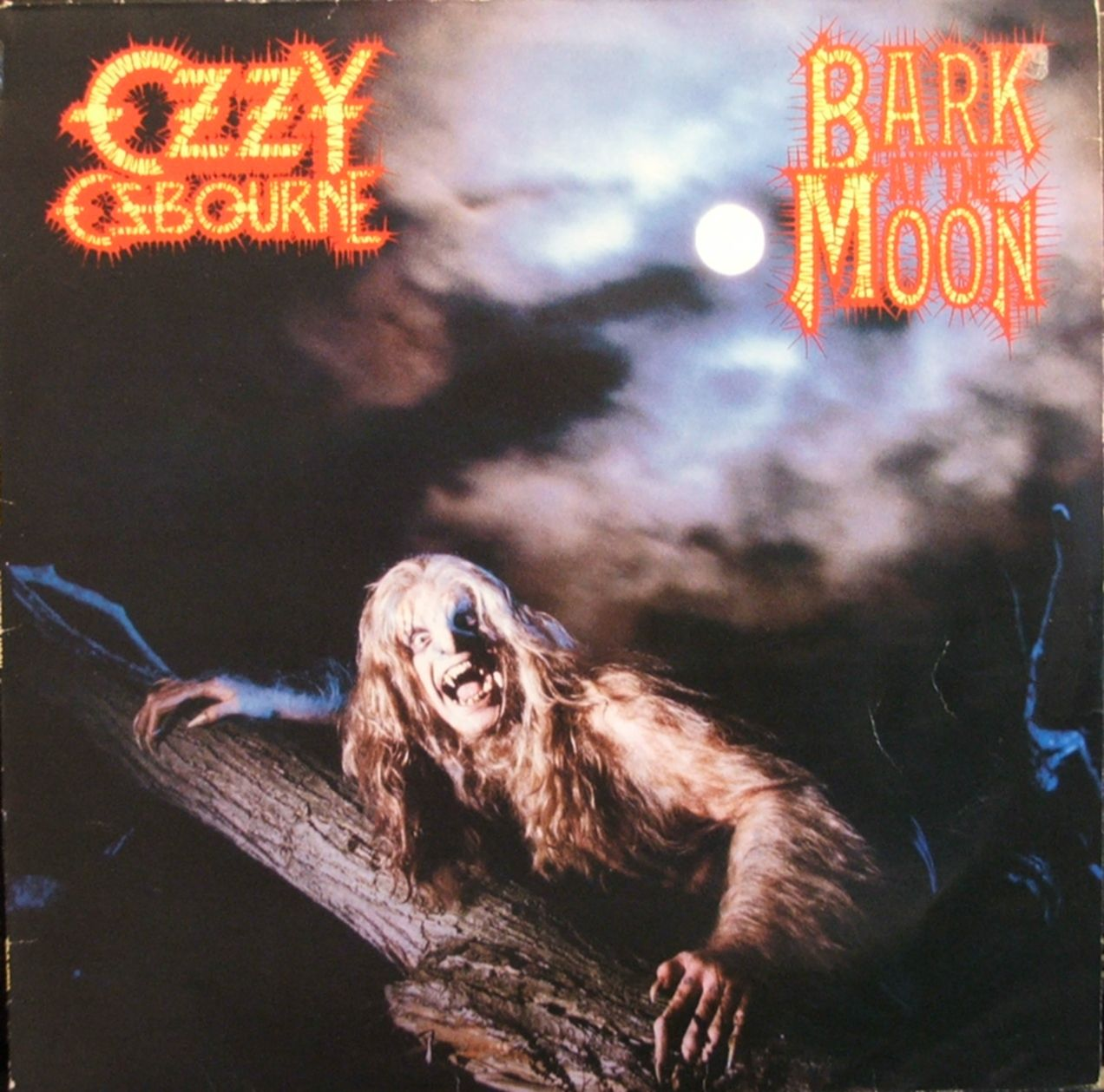 Bark At The Moon Bark At The Moon Ozzy Osbourne Rock Album Covers