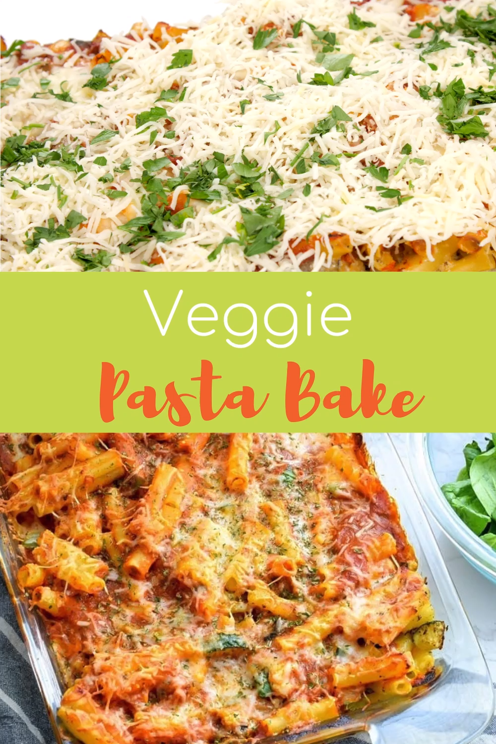 Easy Veggie Pasta Bake (Great for Meal Prep) -   19 meal prep recipes vegetarian freezer ideas