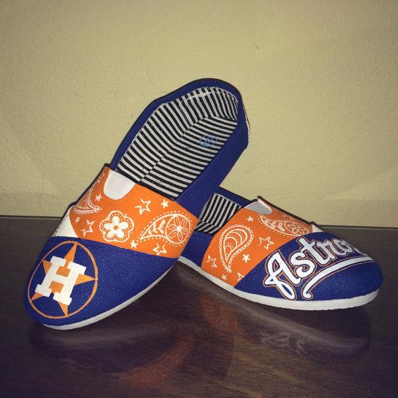 Houston Astros women s shoes Toms available  c577cfde78