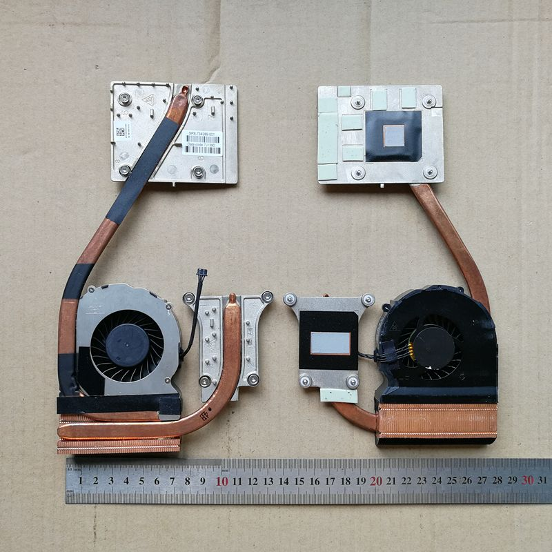 Us 28 0 1pcs New Laptop Cpu Cooling Fan With Heatsink For Hp
