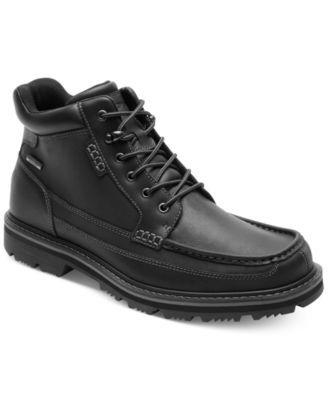 Moc toe boots, Rockport shoes, Rockport