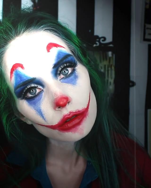 The Joker Video Halloween Makeup Clown Halloween Makeup Looks Cool Halloween Makeup