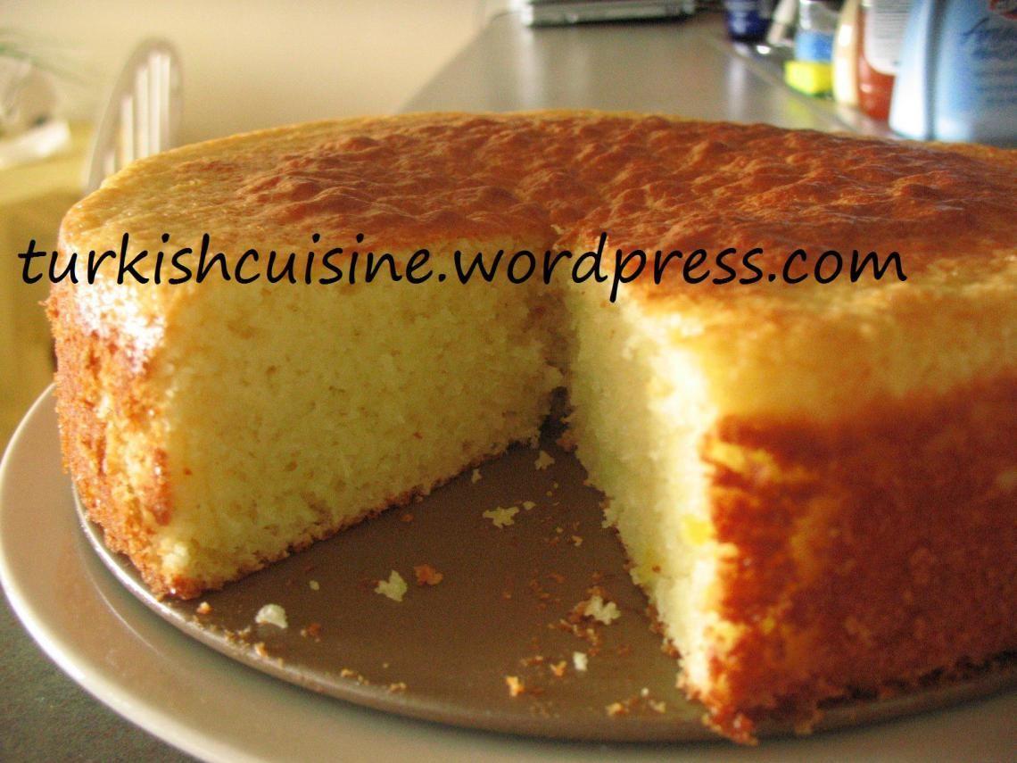 Limonlu Yumuşak Kek