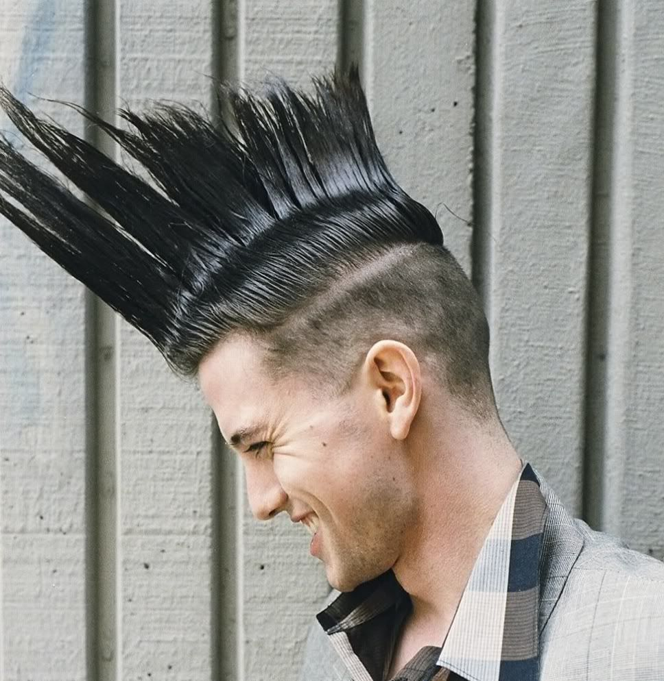 Astonishing Mohawk Hairstyles For Men Hairstyles And Boys On Pinterest Hairstyle Inspiration Daily Dogsangcom