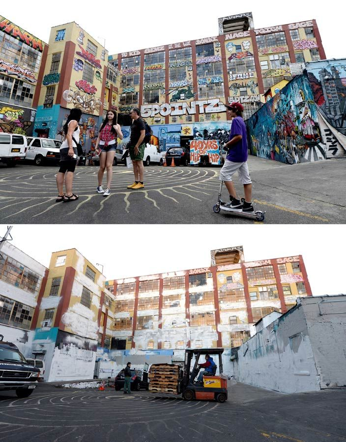 New York Queens: Unofficial graffity museum komplex had to give way to luxury flats.