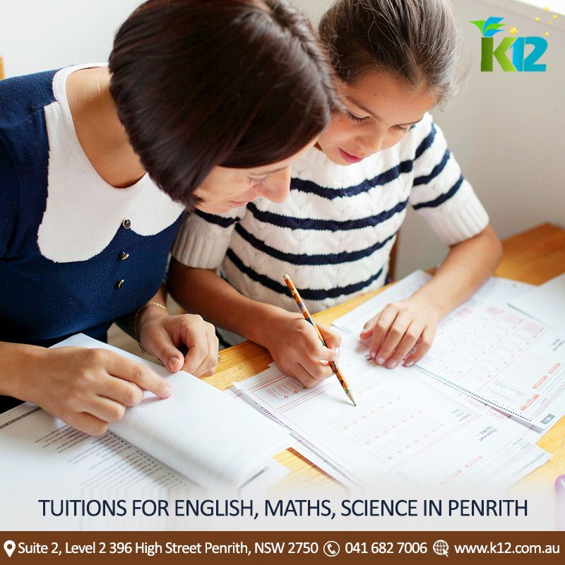 Tuitions for English, Science & Maths in Penrith,Sydney-K12 Academy ...