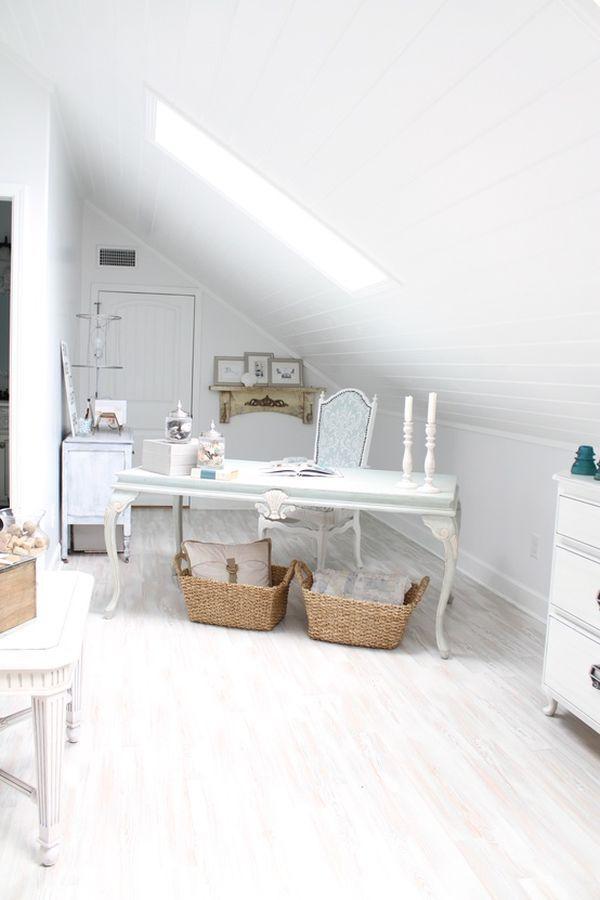 30 Cozy Attic Home Office Design Ideas Home Office Design Inspiration Home Office Design