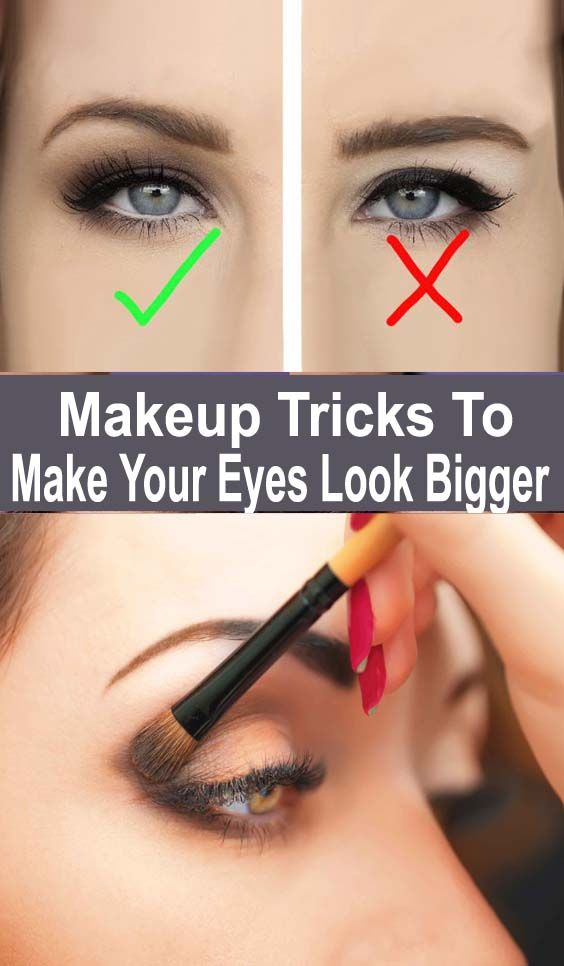 All eye shapes are beautiful, don't get me wrong! I have small almond shaped eyes myself and I don't want to toot my own horn, but quite a few people have complimented me for them! Not all of us have big eyes.  #biggereye #eyemakeuptutorial #eyelookbigger #eyemakeuptips #eyemakeuptricks #bigeyes
