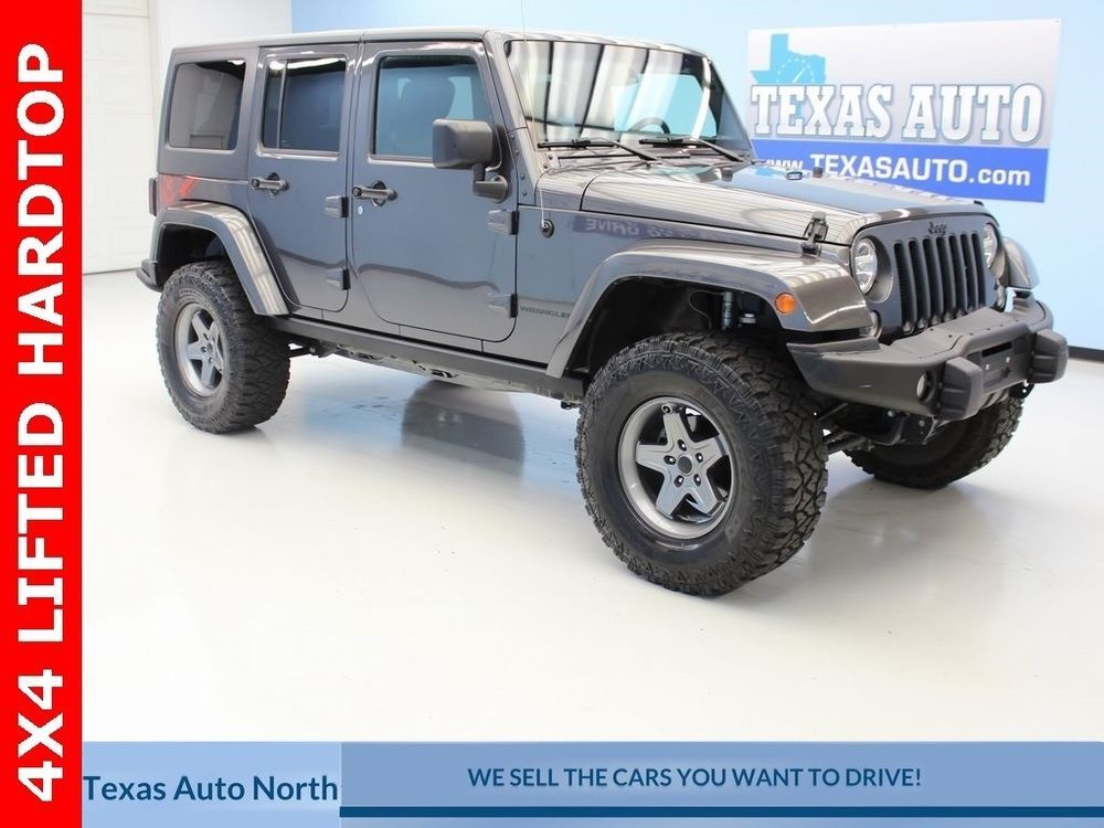 eBay 2016 Wrangler Unlimited Sahara Texas Auto North 2016