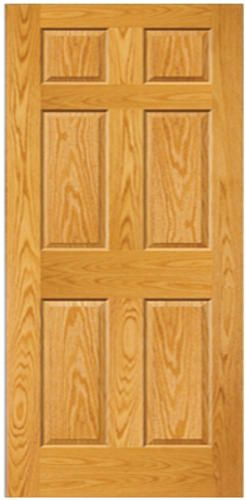 Mastercraft 36 x 80 prefinished golden oak 6 panel int door mastercraft 36 x 80 prefinished golden oak 6 panel int door slab planetlyrics Images