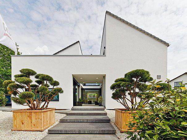 Neues Musterhaus Bad Vilbel Einfamilienhaus Atrium Von