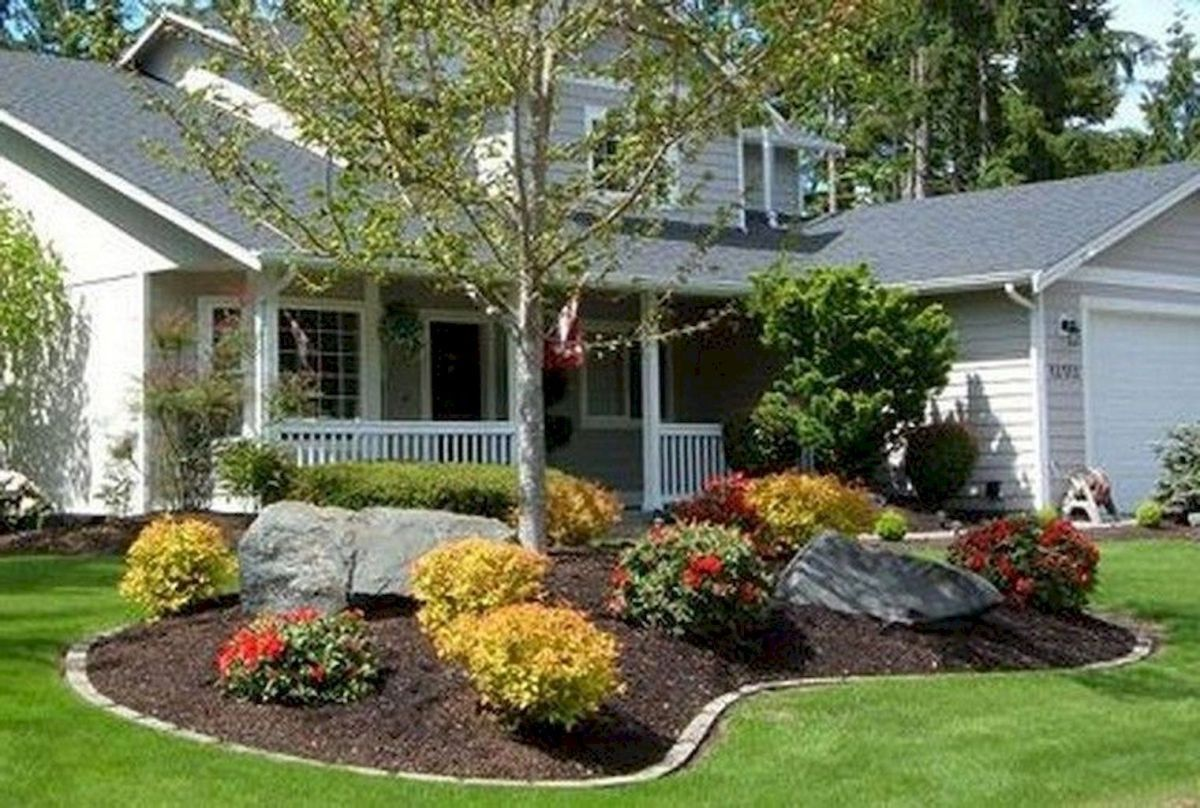 beautiful and cheap simple front yard landscaping ideas 53 on front yard landscaping ideas id=97249