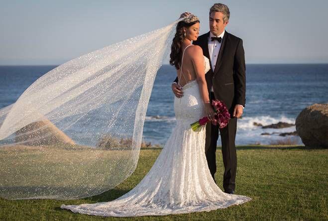 Beautiful French Lace Wedding Gown  #hautecouture #galialahav