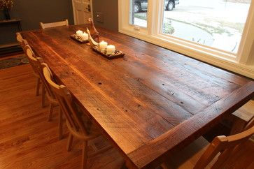 Barnwood Table Traditional Dining Tables St Louis Reclaim Renew