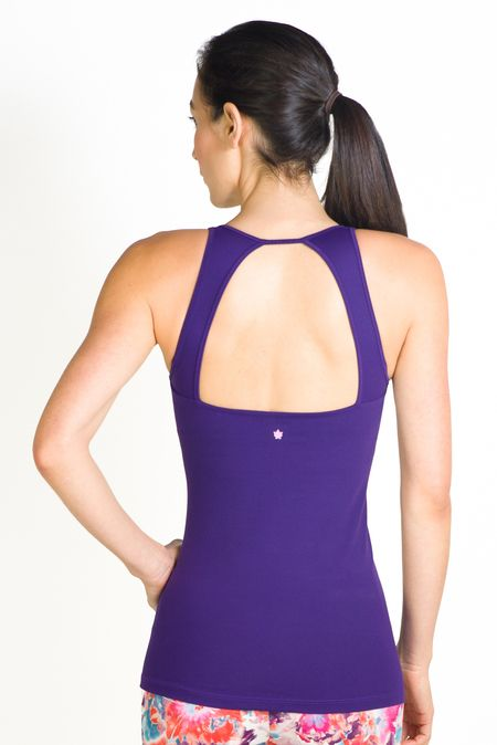 b0d4cce948 The Grace Deep V-Neck Tank is a fashion piece with presence. This yoga top  features moisture wicking fabric with 4-way stretch. Take the plunge!