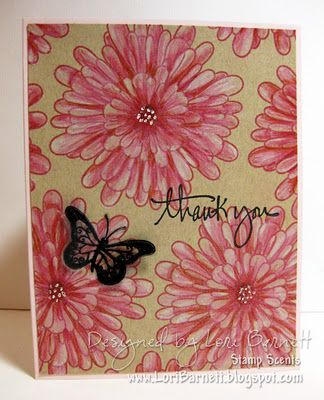 DIY background paper.  Acetate butterfly.  All A Muse Studio Products