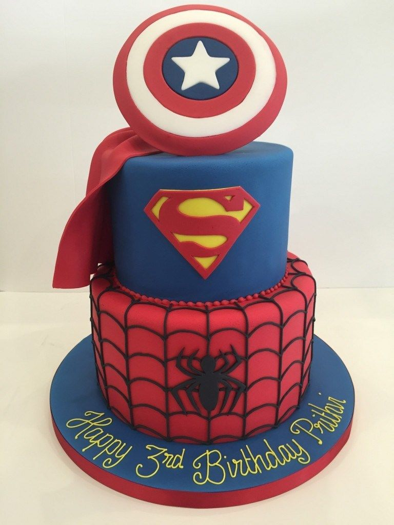Photo of 21+ Great Picture of Marvel Birthday Cake – countrydirectory.info