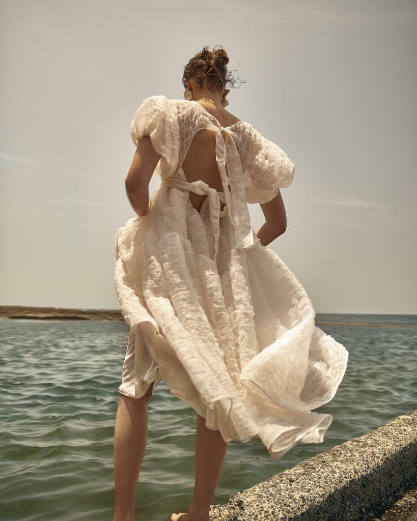 Holly Ward for Harper's Bazaar Australia with Mali Koopman