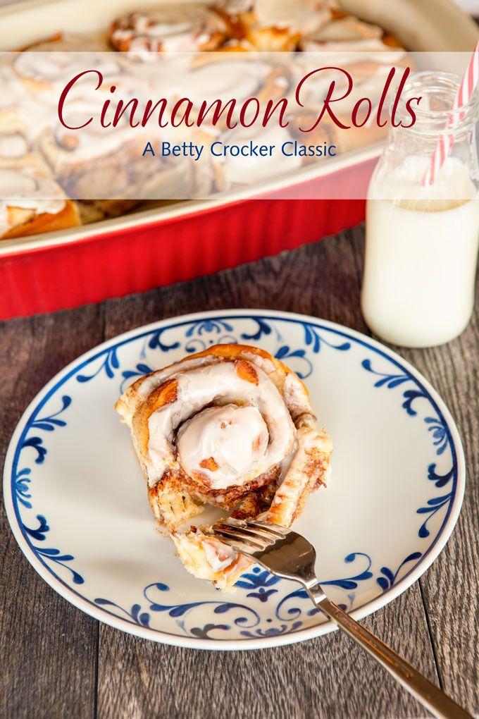 Cinnamon Rolls - A Betty Crocker Classic - Mutt & Chops
