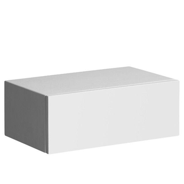A jouer seul ou en superposition, ce chevet-tiroir se fixe - Peindre Table De Chevet