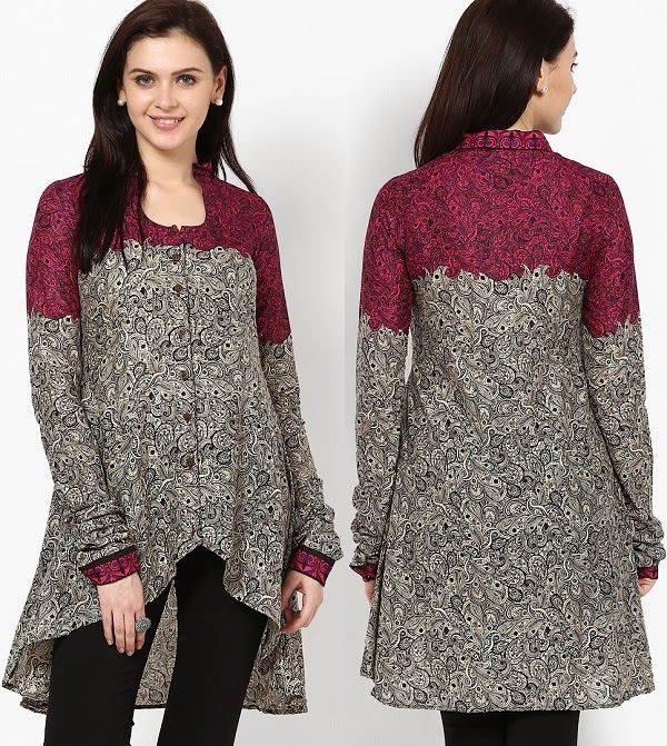 4a3a4f61a0a54a 10 Styles of Kurtis for Jeans