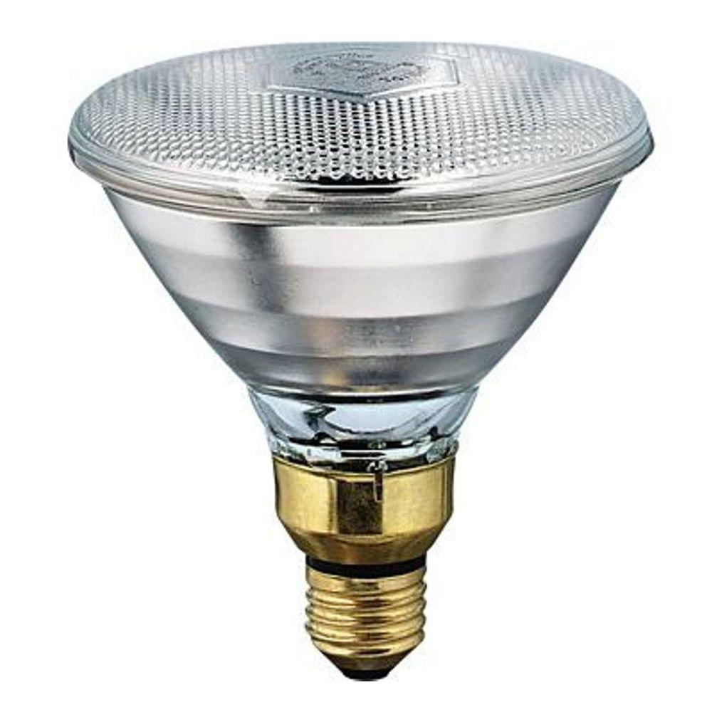 Philips 175 Watt 120 Volt Par 38 Incandescent Heat Lamp Light Bulb 145516 0 The Home Depot In 2020 Heat Lamps Infrared Light Bulb Light Bulb